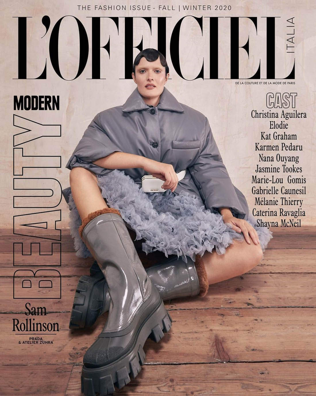 Sam Rollinson covers L'Officiel Italia Issue 34 by Carla Guler