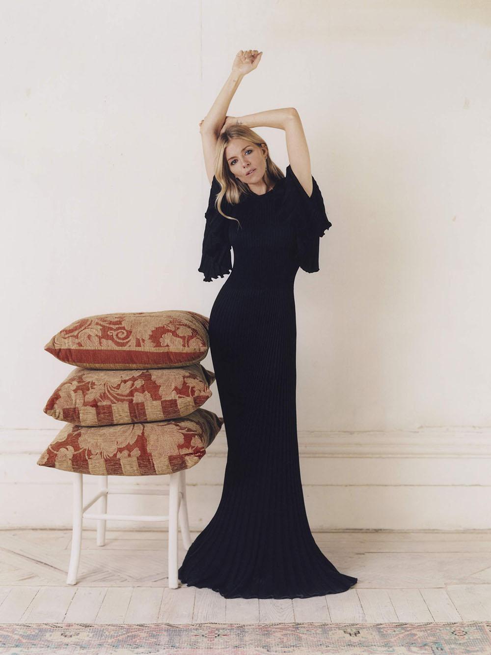 Sienna Miller covers Porter Magazine November 2nd, 2020 by Juliette Cassidy