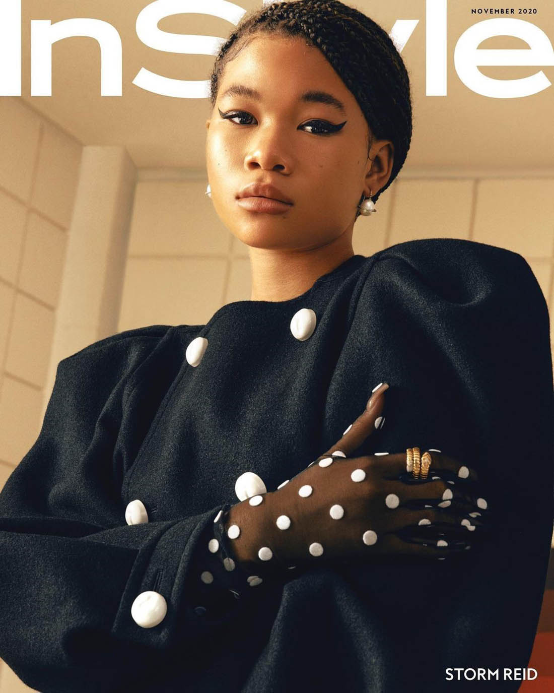 Storm Reid covers InStyle US November 2020 Digital Edition by AB+DM