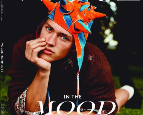 Valentin Humbroich covers Vogue Hommes Paris Fall/Winter 2020 by Alasdair McLellan