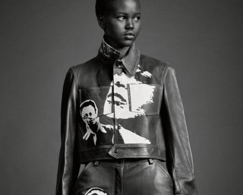 Adut Akech covers AnOther Magazine Autumn Winter 2020 by Craig McDean