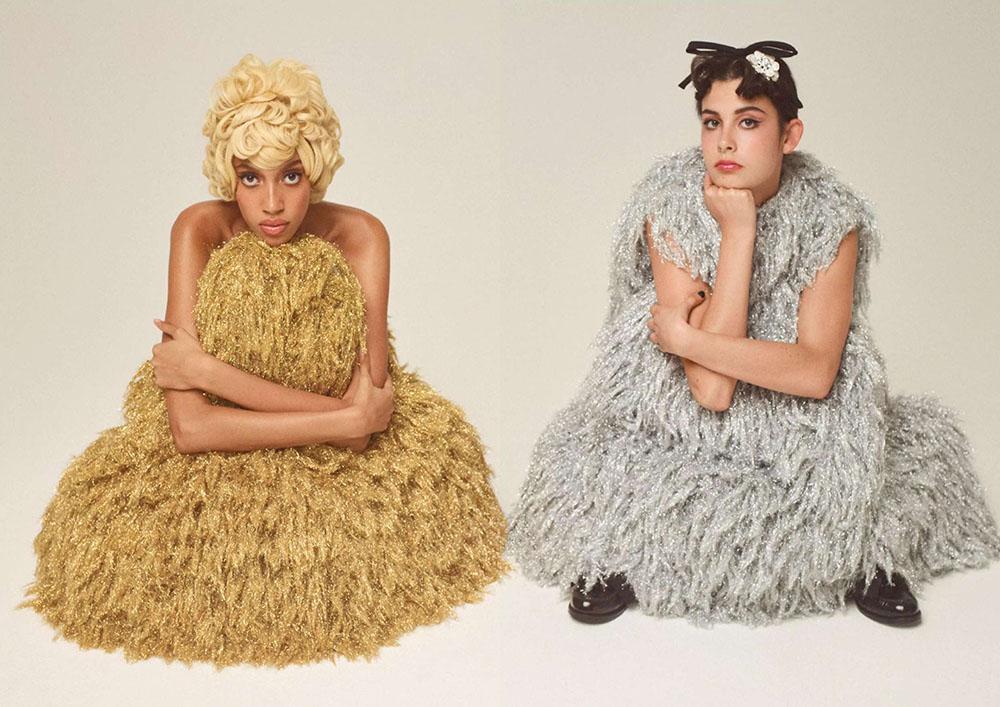 ''After Hours'' by Meinke Klein for Elle UK December 2020