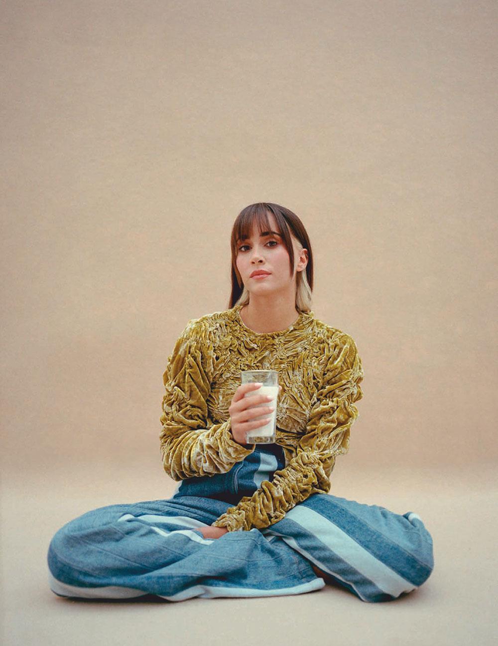 Aitana Ocaña by Pablo Zamora for Vogue Spain December 2020