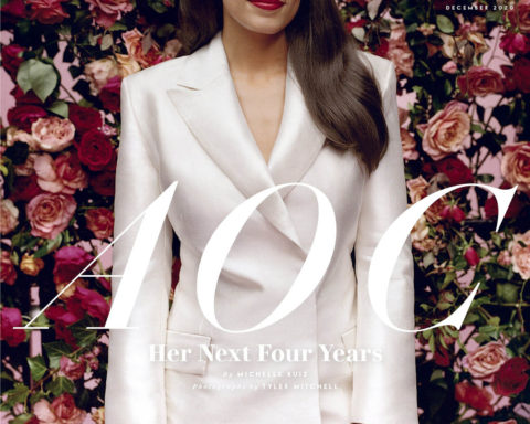 Alexandria Ocasio-Cortez covers Vanity Fair December 2020 by Tyler Mitchell