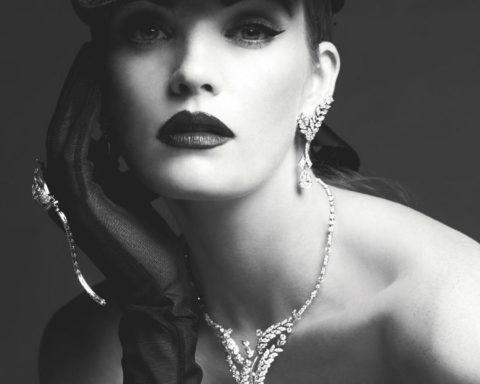 Alexina Graham by Luc Braquet for Tatler UK December 2020