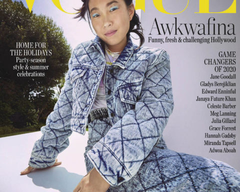 Awkwafina covers Vogue Australia December 2020 by Charles Dennington
