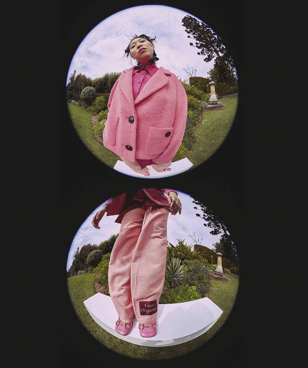 Awkwafina covers Vogue Australia December 2020 by Charles Dennington