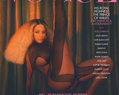 Beyoncé covers British Vogue December 2020 by Kennedi Carter