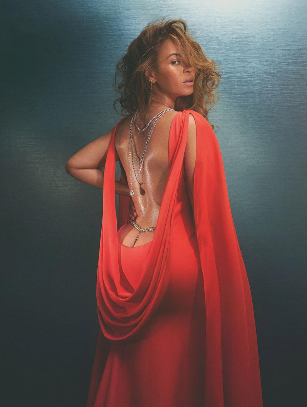 Beyoncé covers British Vogue December 2020 by Kennedi Carter