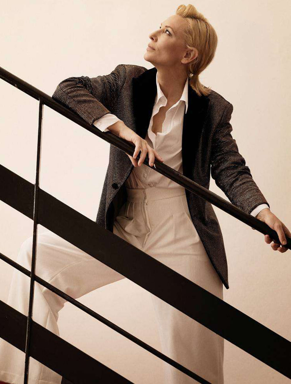 Cate Blanchett covers Madame Figaro December 18th, 2020 by Greg Williams