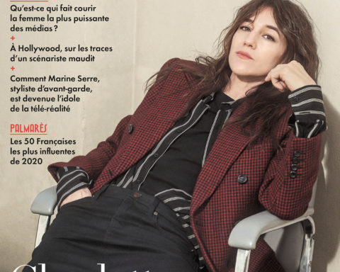 Charlotte Gainsbourg covers Vanity Fair France December 2020 January 2021 by Casper Sejersen