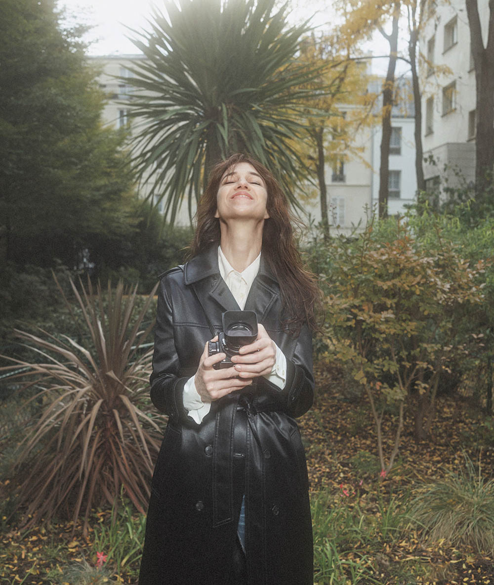 Charlotte Gainsbourg covers Vanity Fair France December 2020 January 2021 by Casper Sejersen