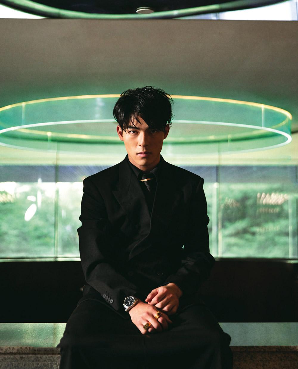 Chen Haosen covers Men's Uno Taiwan December 2020 by Wang Yu
