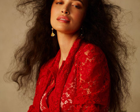 Christian Serratos by Meg Young for Marie Claire US Winter 2020