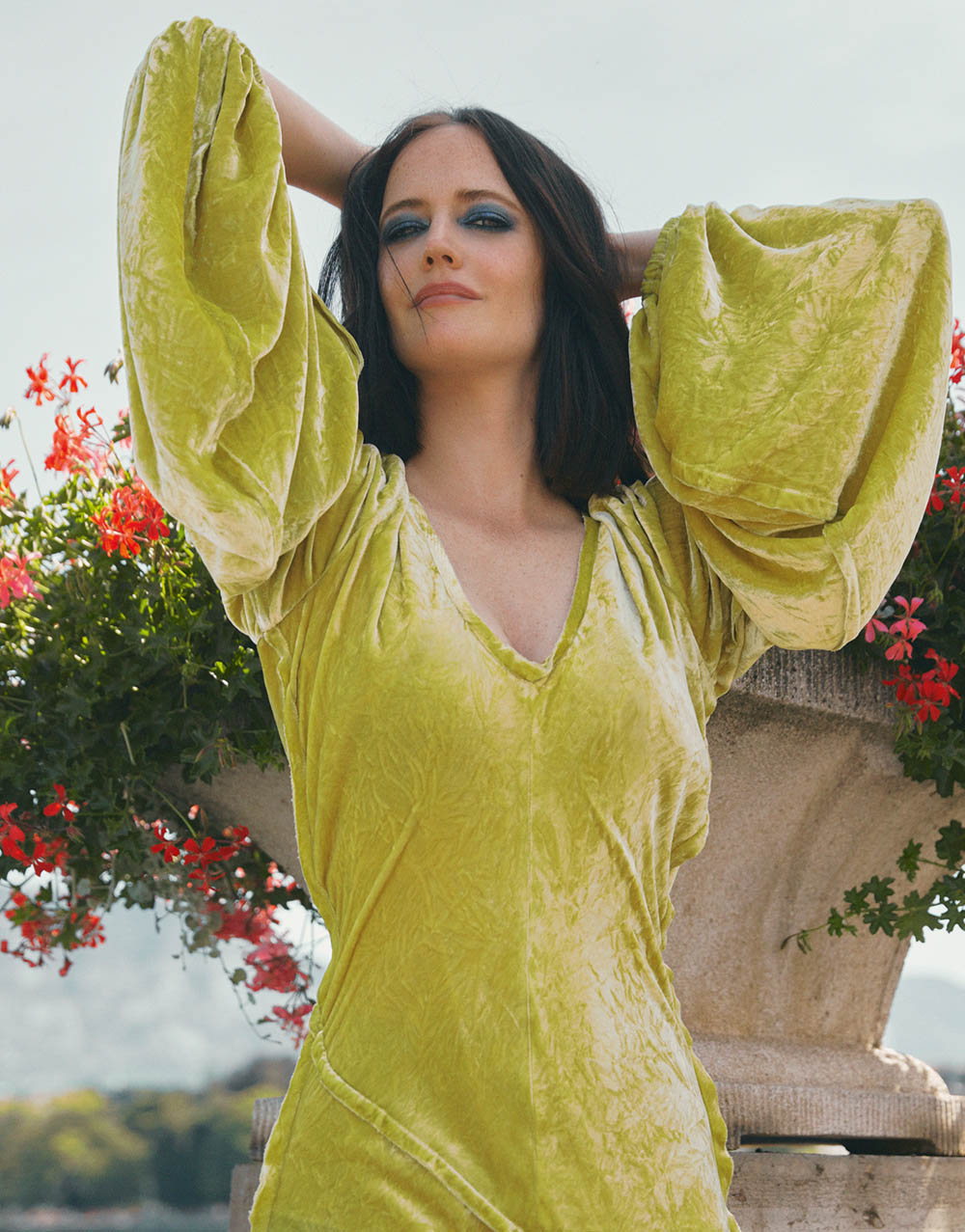 Eva Green covers Tatler Russia December 2020 by Javier Biosca