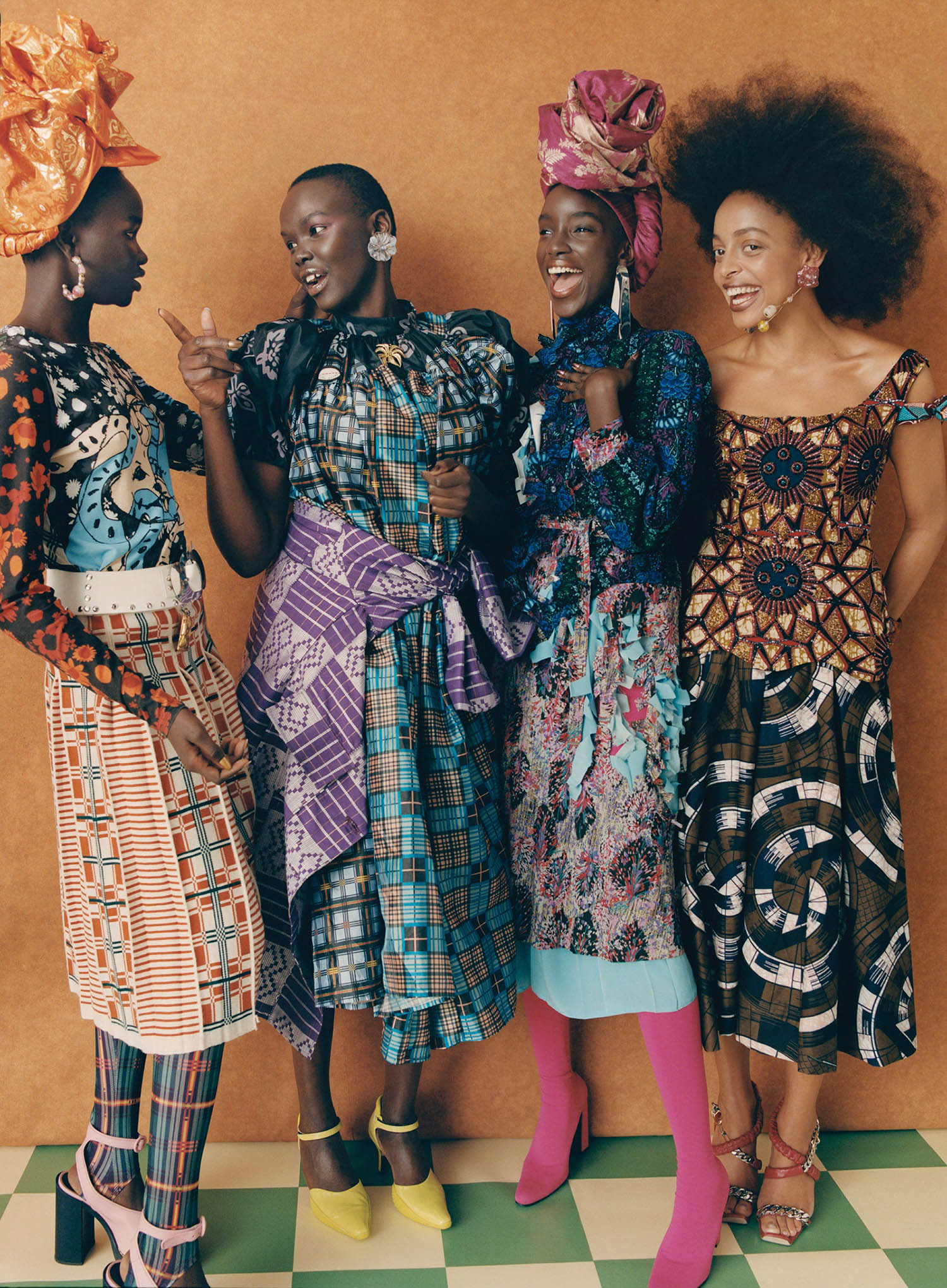 ''Family Values'' by Nadine Ijewere for Vogue US December 2020