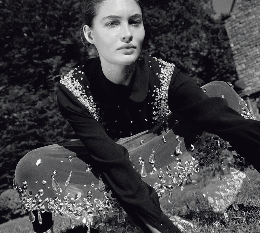 Grace Elizabeth by Yelena Yemchuk for Vogue China December 2020