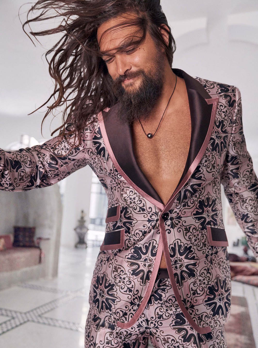 Jason Momoa by Carter Smith for InStyle US December 2020