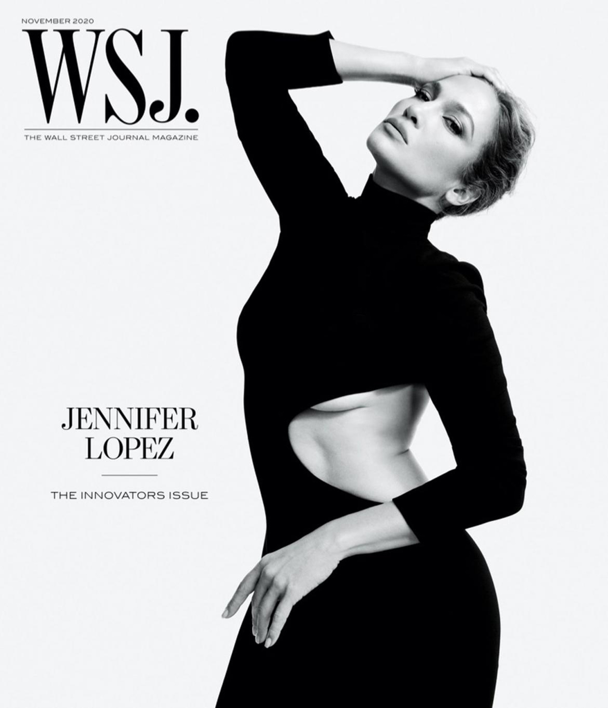 Jennifer Lopez covers WSJ. Magazine November 2020 by Gray Sorrenti