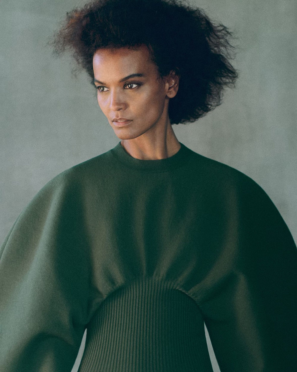 Liya Kebede covers Vogue Korea December 2020 by Chris Colls