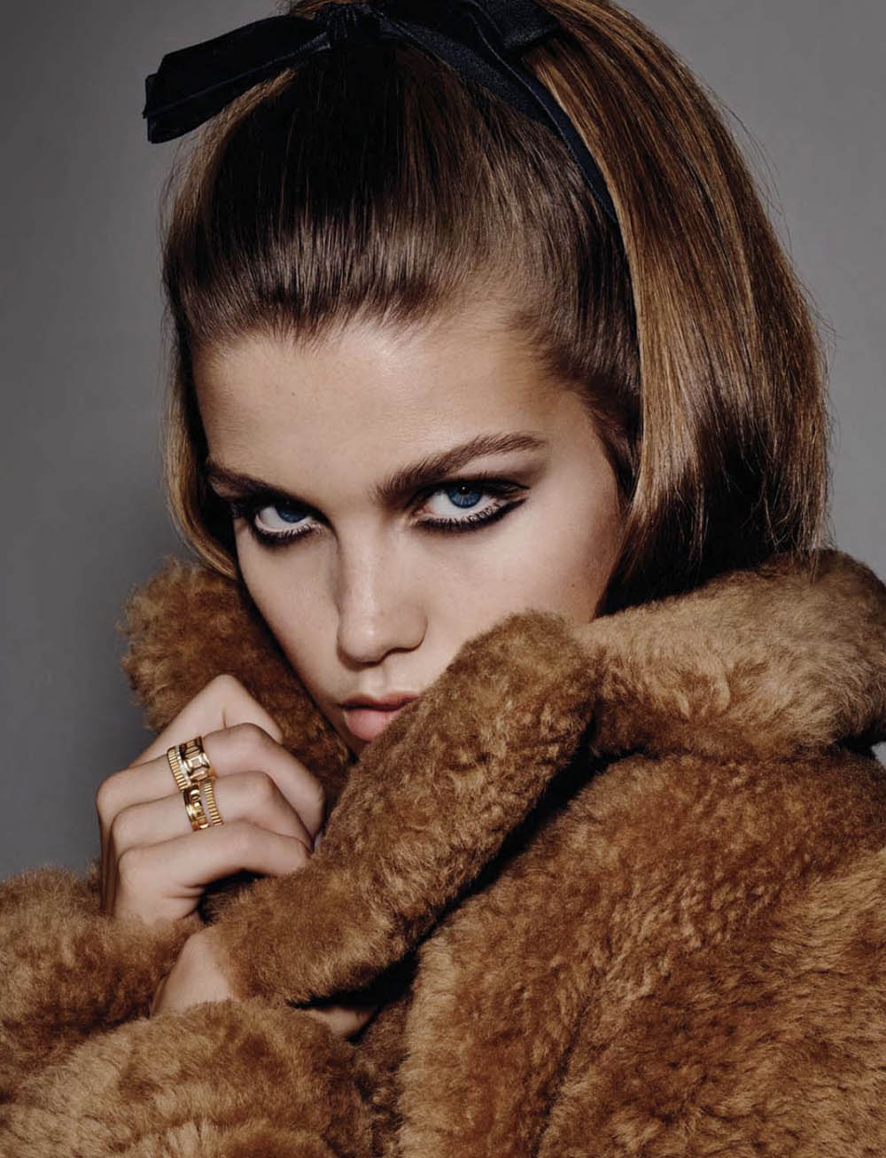 Luna Bijl covers Vogue Ukraine December 2020 January 2021 by Liz Collins