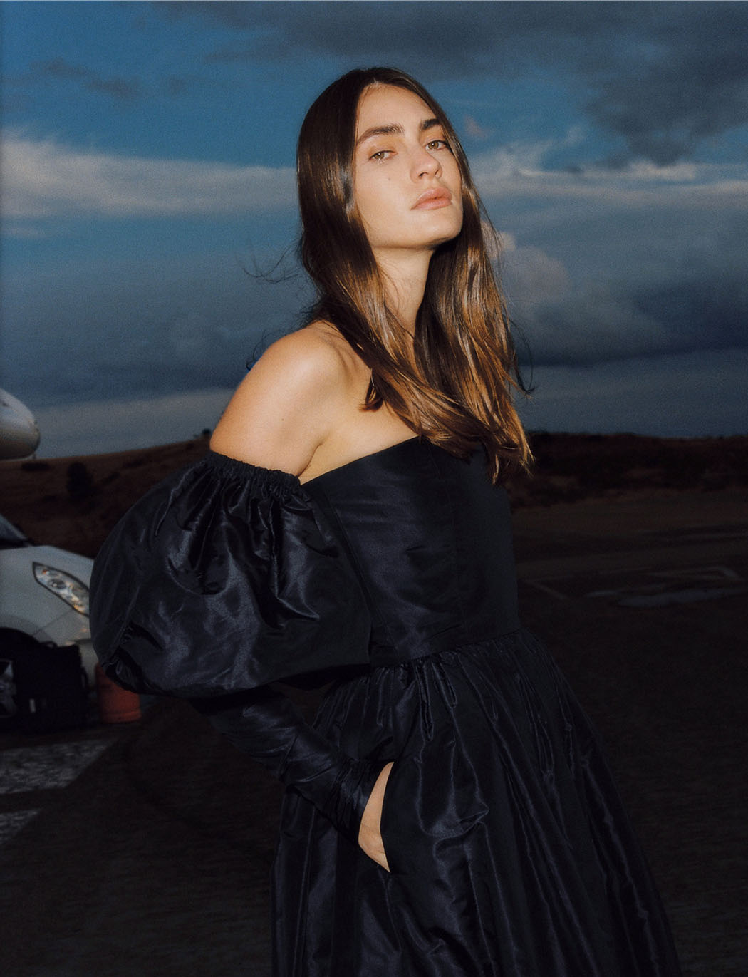 Marine Deleeuw by Pablo Curto for InStyle Spain December 2020