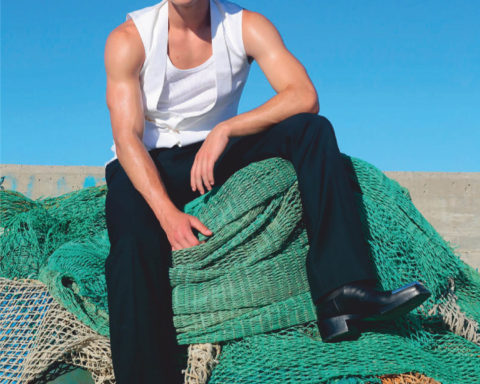 Matteo Ferri by Lorenzo Marcucci for L'Officiel Hommes Italia Issue 25