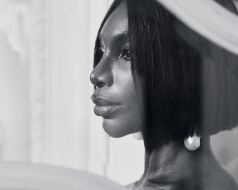 Michaela Coel by Josh Shinner for Harper's Bazaar UK December 2020