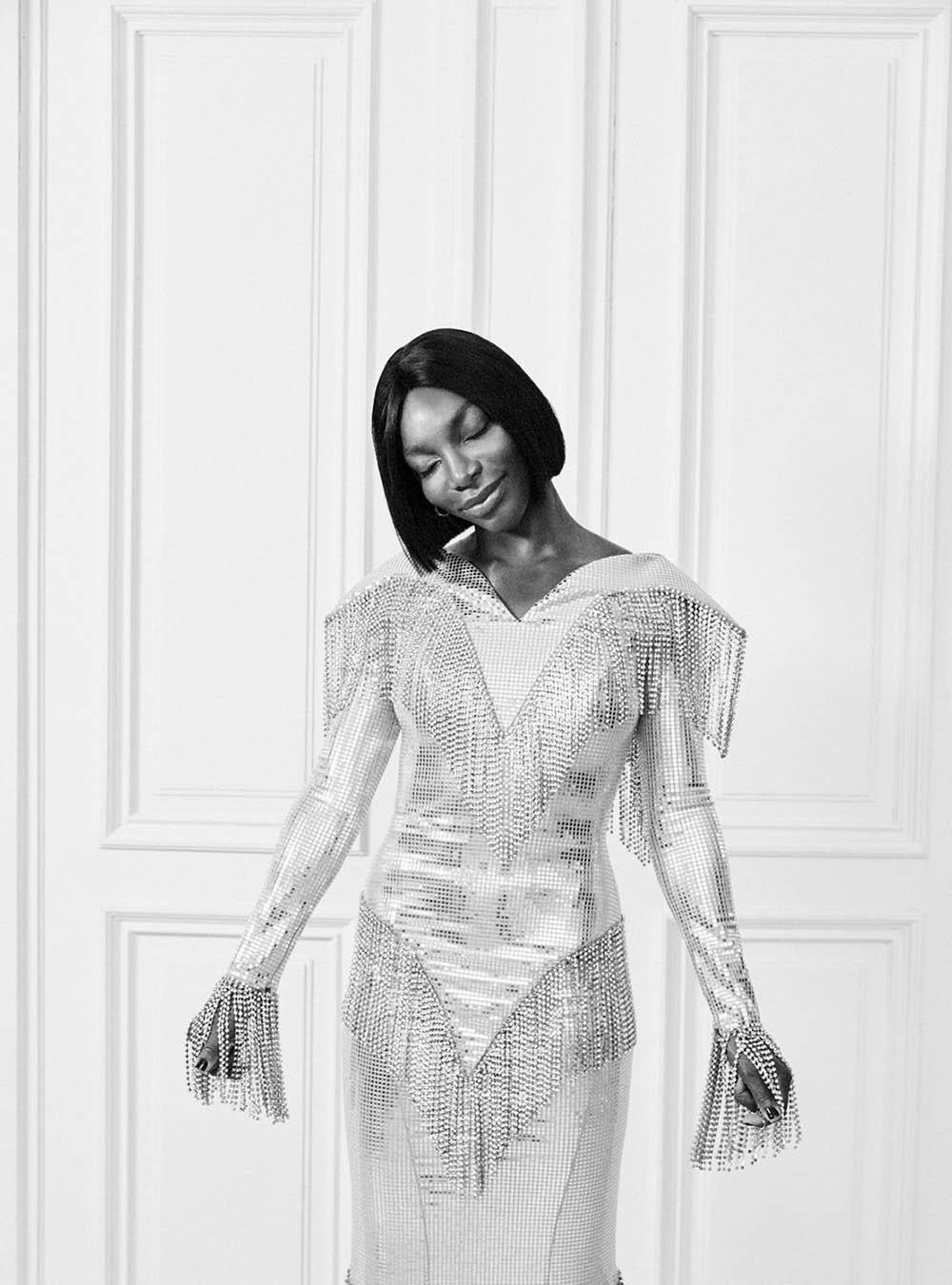 Michaela Coel by Josh Shinner for Harper's Bazaar UK December 2020