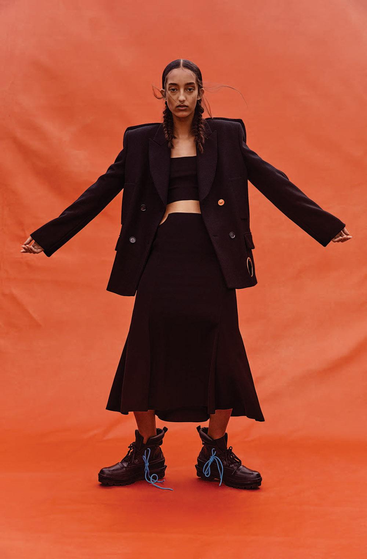 Mona Tougaard by Bibi Cornejo Borthwick for WSJ. Magazine December 2020 January 2021