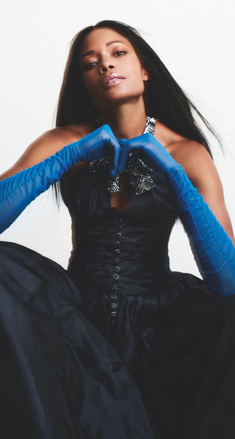 Naomie Harris covers Tatler UK December 2020 by Txema Yeste