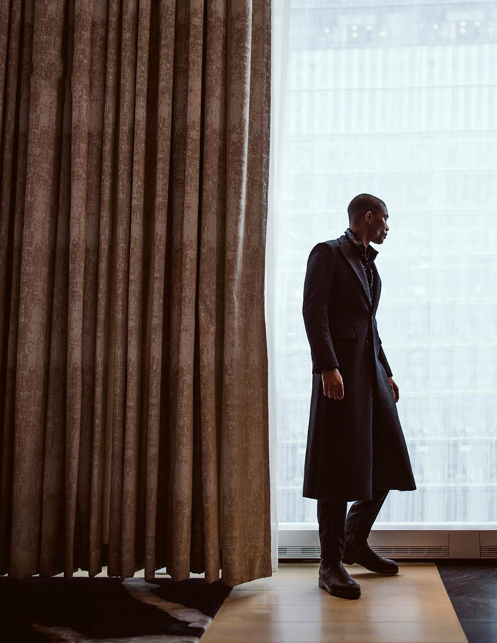 Niyo Malik covers Man of Metropolis December 2020 by Daniel Matallana