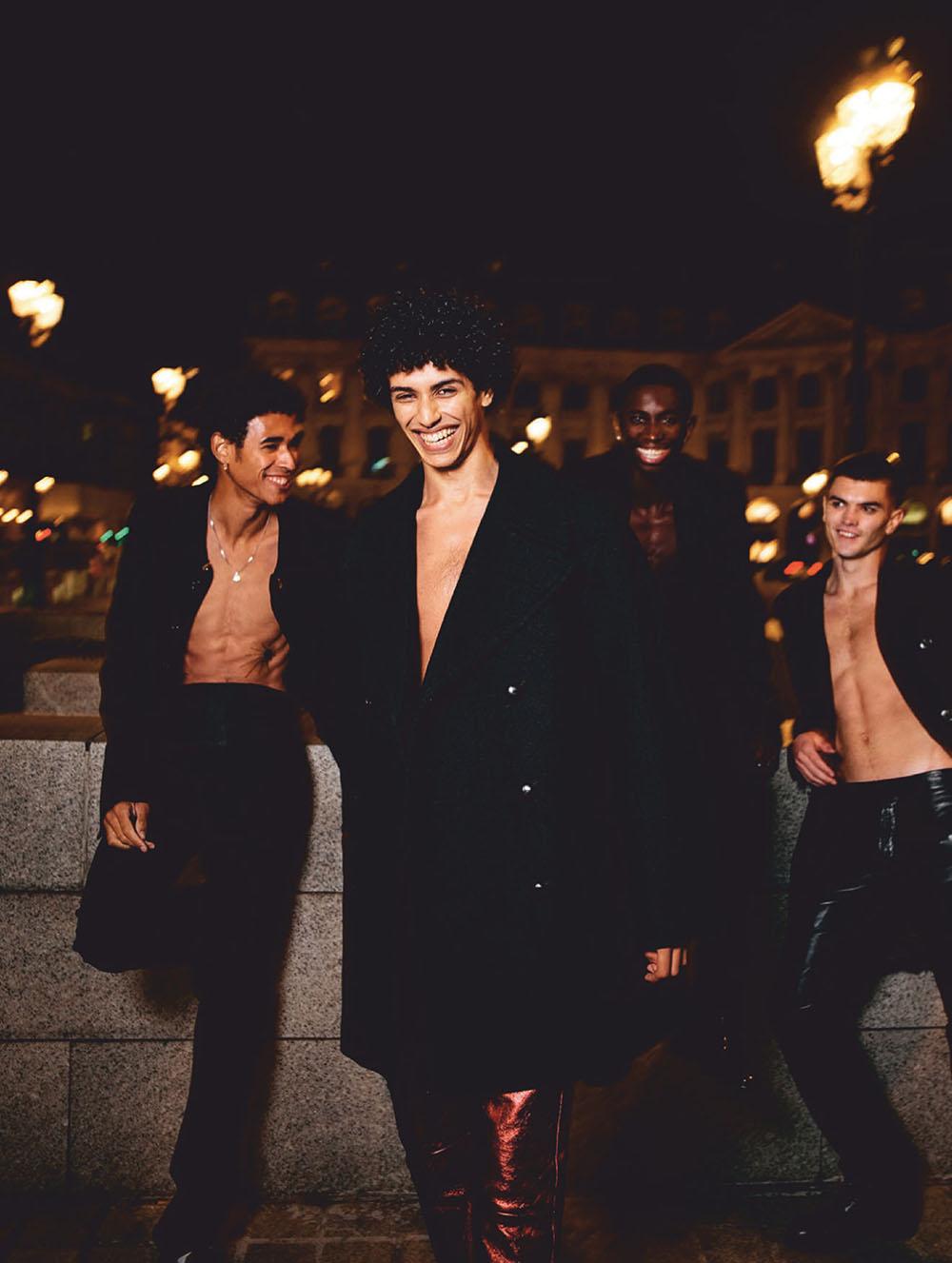 ''Paris Gang'' by Rémi Pujol for L'Officiel Hommes Italia Issue 25