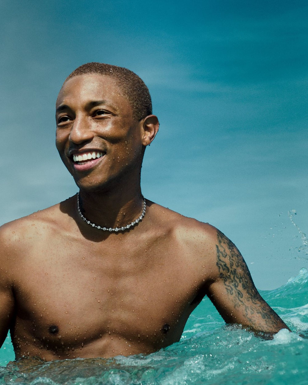 Pharrell Williams covers Allure US December 2020 January 2021 by Ben Hassett