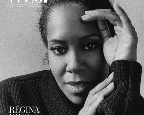 Regina King covers WSJ. Magazine December 2020 January 2021 by Alexandra Leese