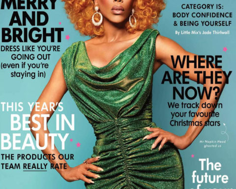 RuPaul covers Cosmopolitan UK December 2020 January 2021 by Albert Sanchez and Pedro Zalba