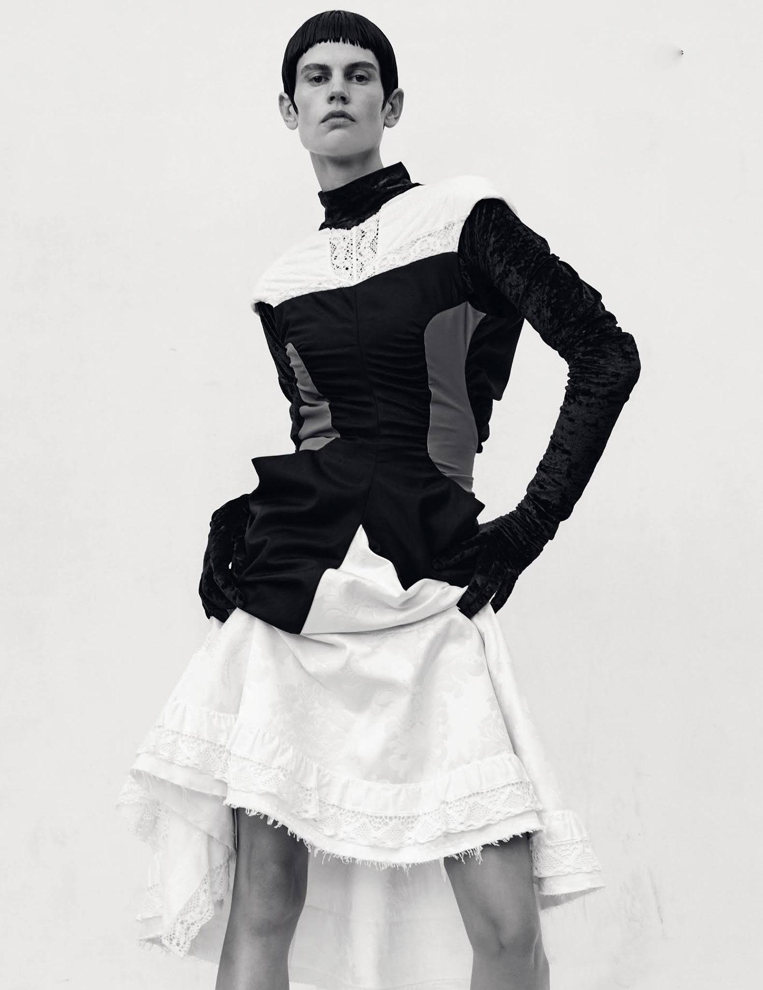 Saskia de Brauw by Amy Troost for i-D Magazine Winter 2020