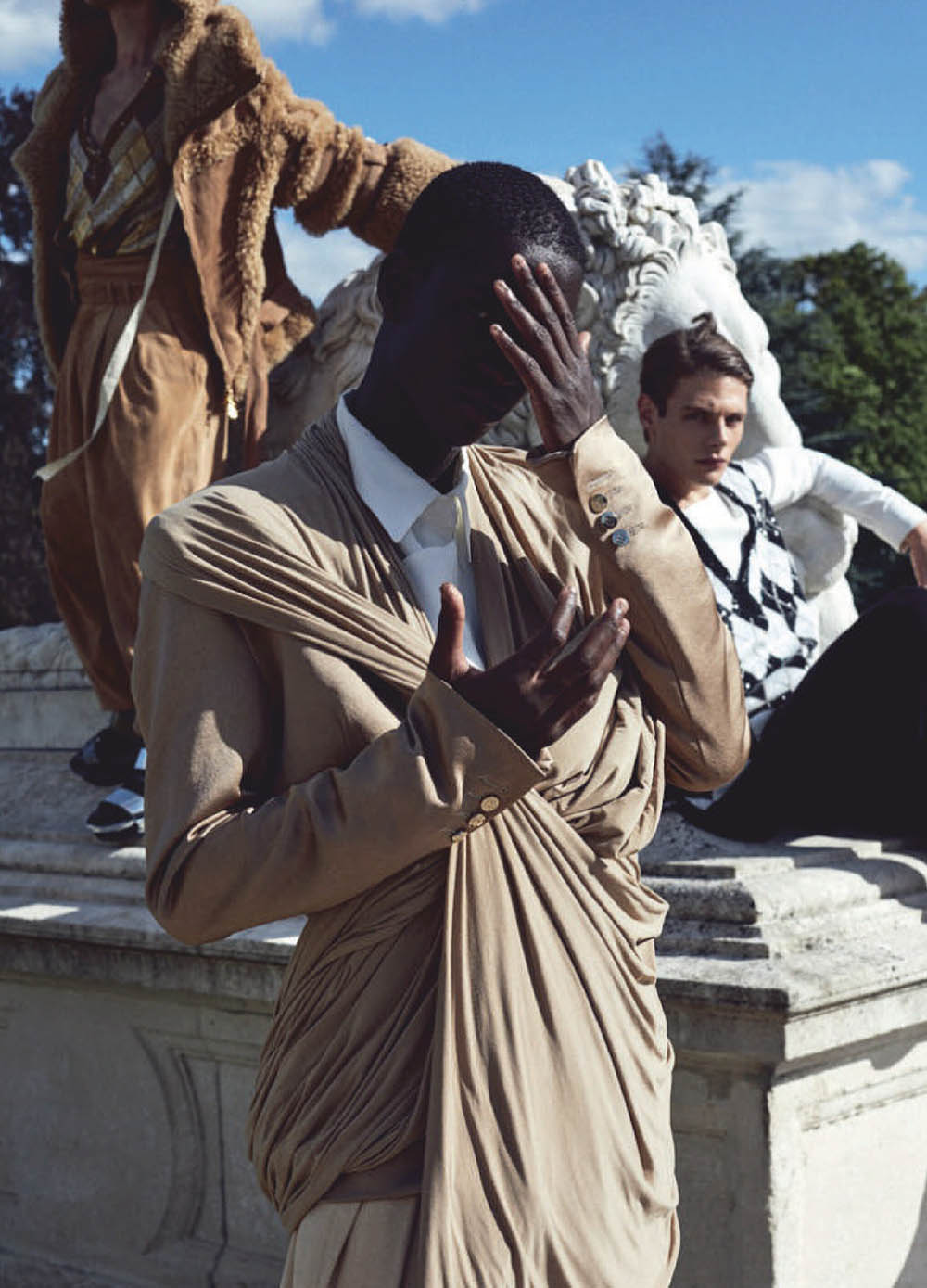 ''To the Manor Born'' by Guillaume Malheiro for L'Officiel Hommes Italia Issue 25