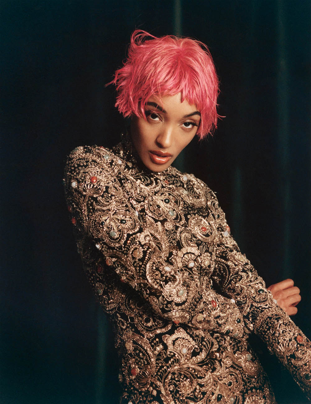 ''Turn It Out'' by Rasharn Agyemang for W Magazine Volume 4 2020