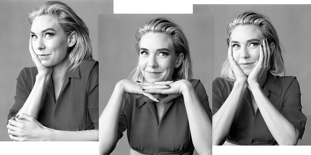 Vanessa Kirby covers Harper's Bazaar US December 2020-January 2021 by Scott Trindle