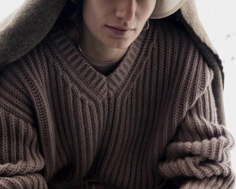 Veronika Kunz by Claudia Knoepfel for Vogue Germany December 2020