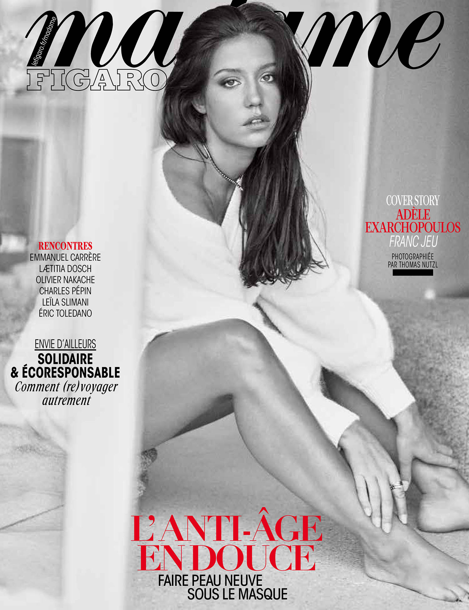Adèle Exarchopoulos covers Madame Figaro January 29th, 2021 by Thomas Nutzl