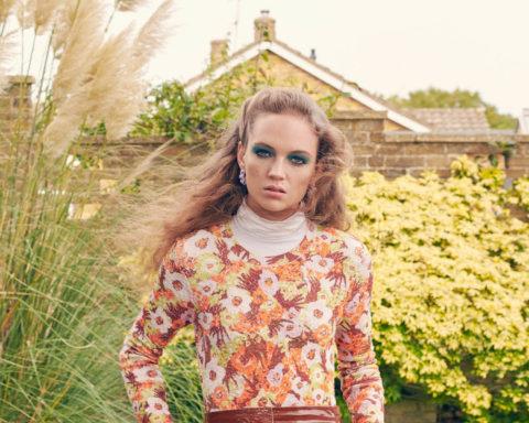 Adrienne Jüliger by Laurie Bartley for Elle UK January 2021