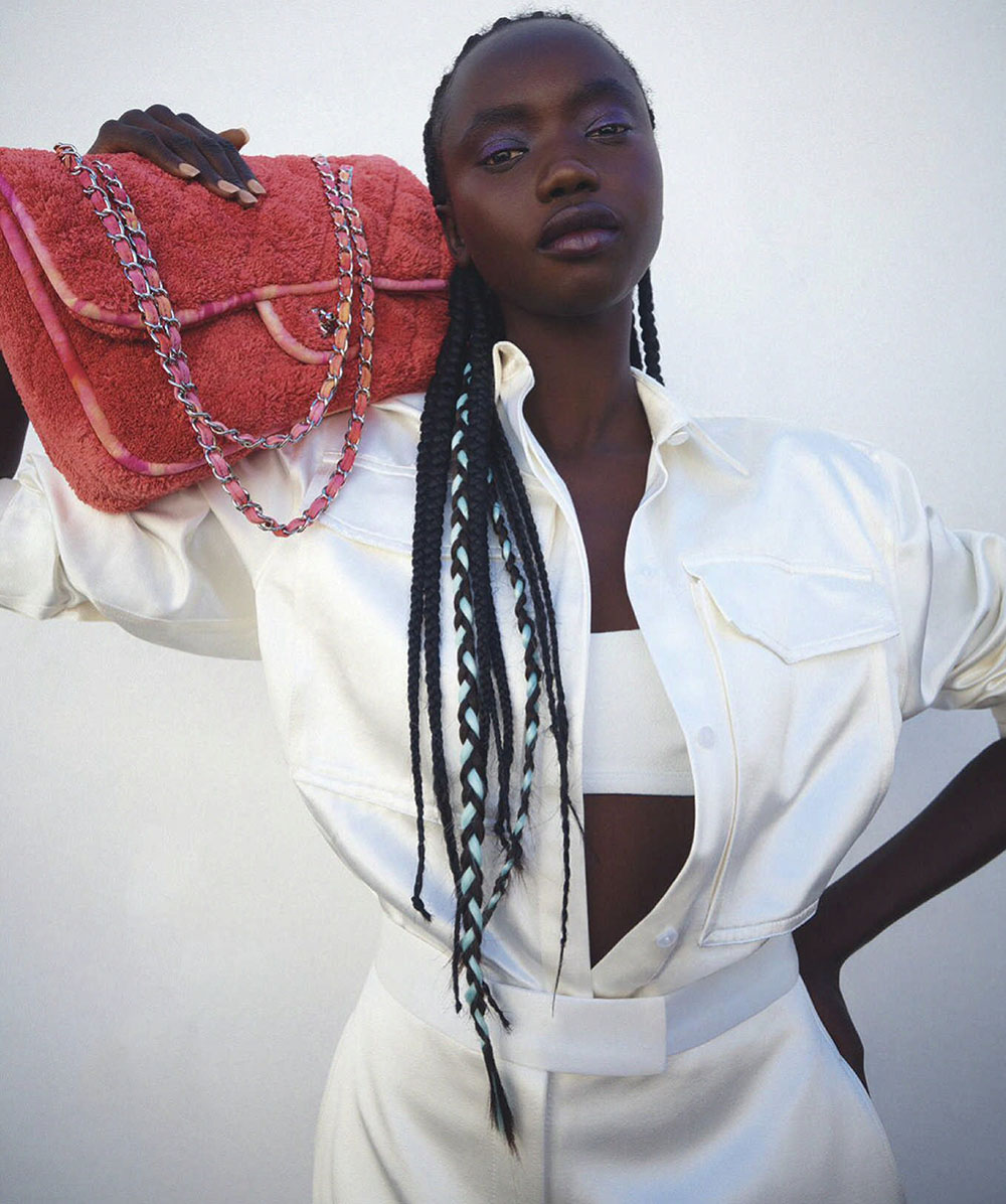 Agi Akur by Isaac Brown for Vogue Australia January 2021