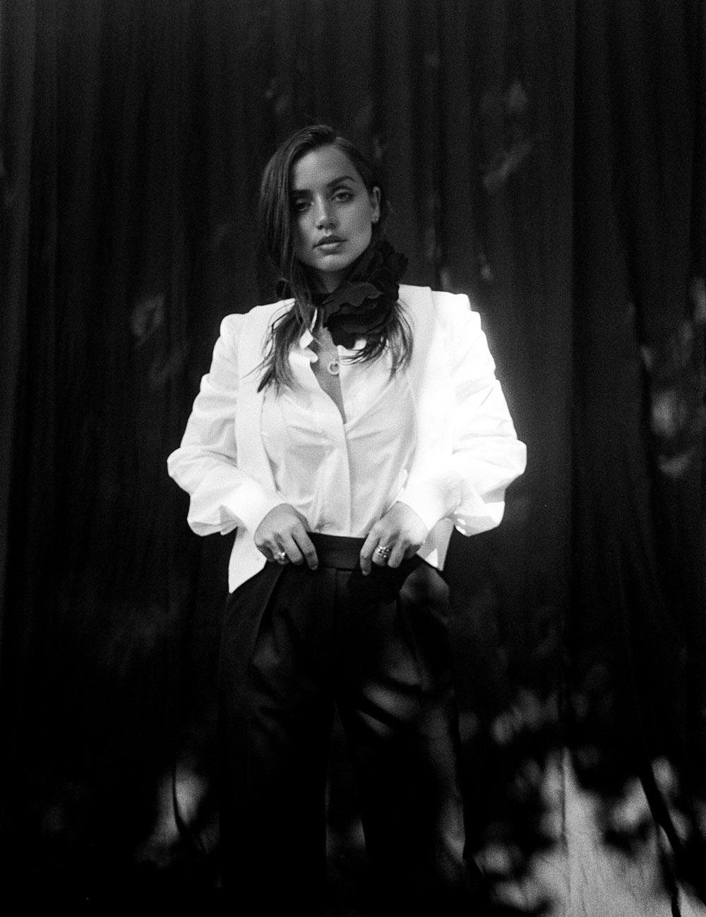 Ana de Armas covers Flaunt Magazine Issue 172 by Yana Yatsuk
