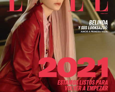 Belinda covers Elle Mexico January 2021 by Alex Cordova
