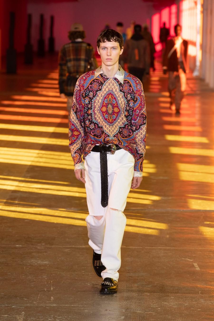 Etro Fall Winter 2021 – Milan Fashion Week Men's