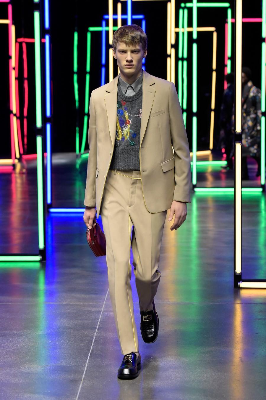Fendi Fall Winter 2021 – Milan Fashion Week Men's
