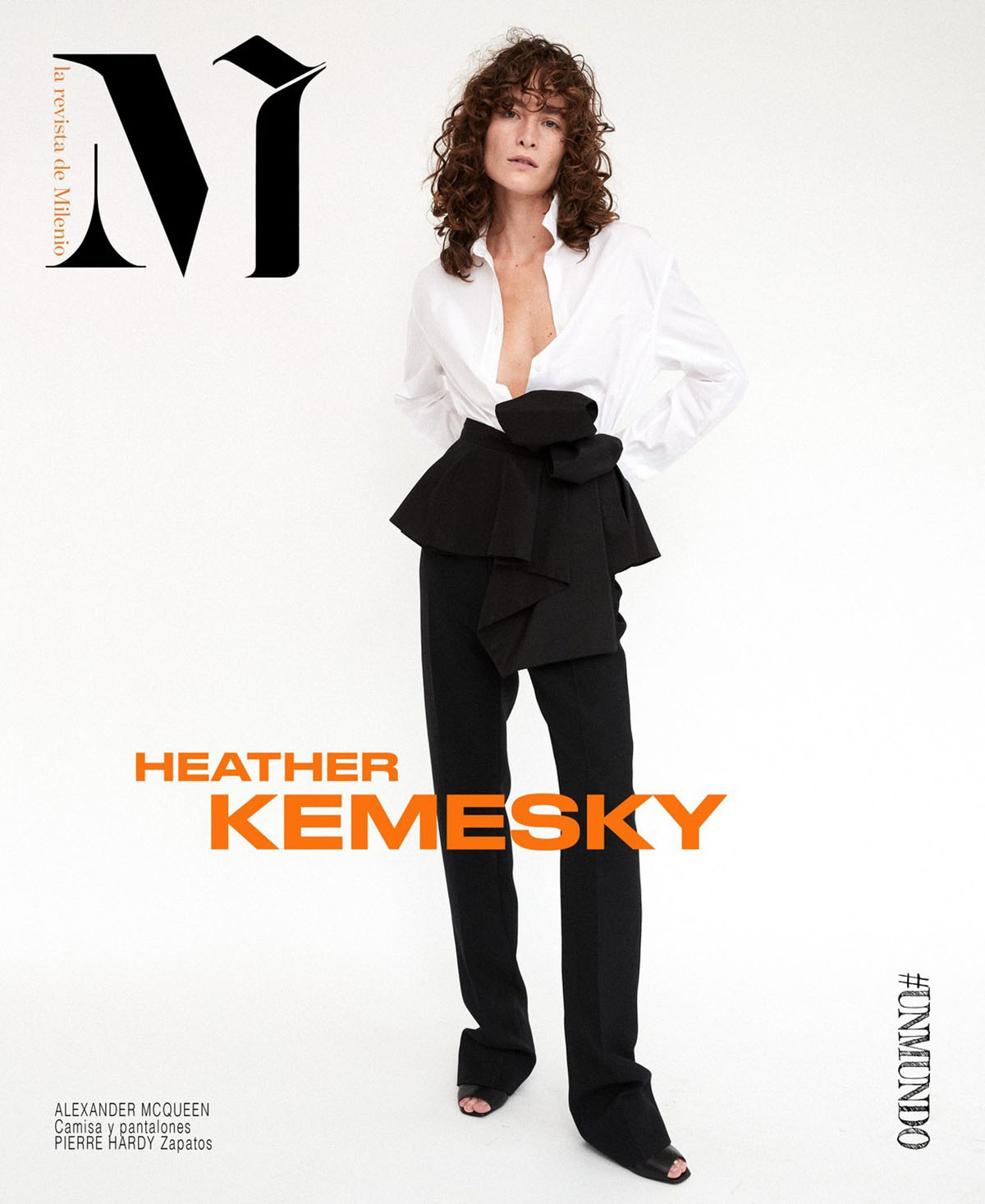Heather Kemesky covers M la Revista de Milenio Issue 04 by David Roemer