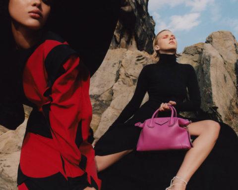 Jade Rabarivelo and Jana Julius by Dan Beleiu for Vogue China November 2020